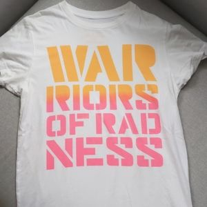 Warriors of Radness tee size M.